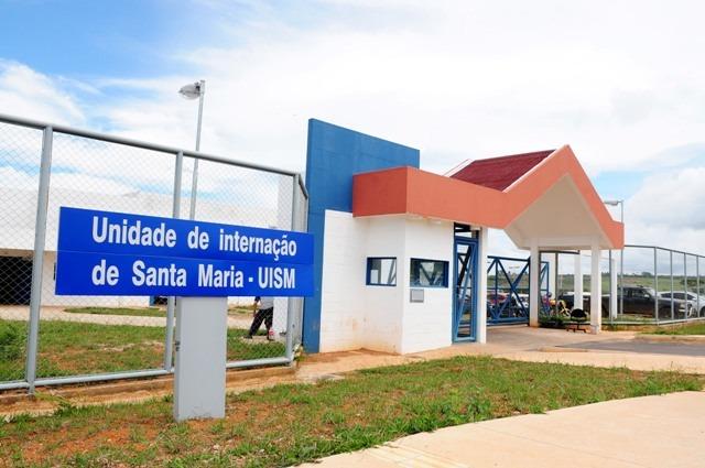 Reformada a Unidade de Internação do Sistema Socioeducativo de Santa Maria, localizada no Núcleo Rural Alagados.