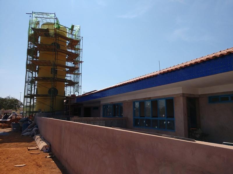 Centro de Educação da Primeira Infância - Cepi Azulão, localizado na QN 425, Área Especial 02 - Samambaia, em obras, com previsão de conclusão em 2019. O centro é composto por 8 salas de aula, bloco de administração, bloco de serviços, 3 blocos pedagógicos, pátio coberto, anfiteatro e parquinho, com capacidade de atendimento de até 150 crianças de 0 a 5 anos em período integral.
