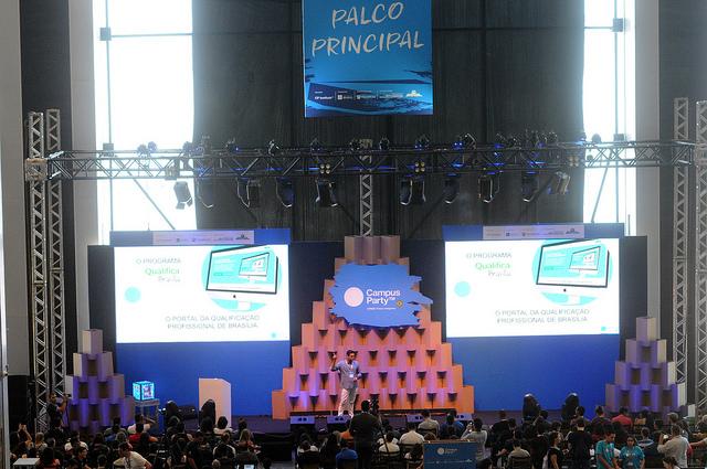 Realizada a Campus Party 2017, no período de 14 a 18/06/2017, no Centro de Convenções Ulysses Guimarães. O evento contou com a participação de 4.500 pessoas na arena e público de 70.000 pessoas na open campus.