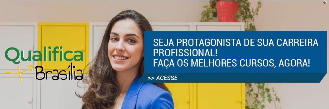 Ofertados cursos e palestras de recolocação profissional, na modalidade presencial, pelo Programa Qualifica Mais Brasília. Foram certificadas: <ul>     <li>Em 2016: 758 pessoas </li> </ul><ul>     <li>Em 2017: 189 pessoas </li> </ul><ul>     <li>Em 2018: 421 pessoas </li> </ul>