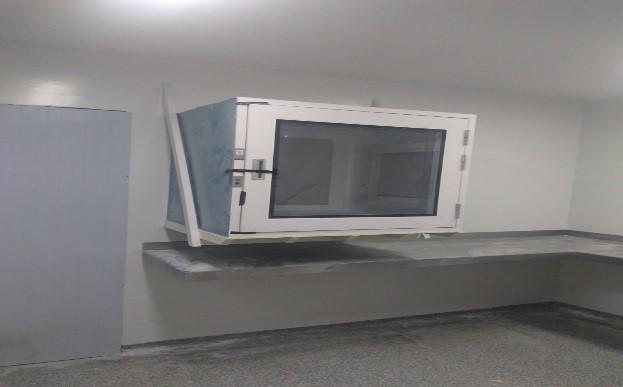 Reformada a Farmácia Antineoplásica - capela de fluxo laminar - do Hospital Regional de Taguatinga - HRT com a finalização da instalação do equipamento em 25/01/2018 e conclusão de manutenção predial em abril/2018.