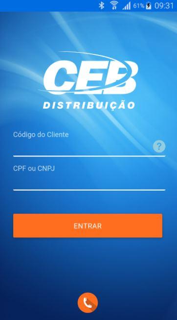 """Implantado, em agosto/2015, o aplicativo virtual CEB Mobile, que permite a interação com os clientes da empresa, que podem solicitar de maneira prática pelo celular ou tablet a segunda via da conta de luz ou o código de barras para efetuar o pagamento da fatura, a religação da unidade consumidora e comunicar falta de energia.<br> Baixe aqui Android: (<a href=""""https://play.google.com/store/apps/details?id=br.com.CEB.Ceb&hl=pt"""">link aqui</a>)<br> Baixe aqui IOS: (<a href=""""https://itunes.apple.com/br/app/ceb-distribui%C3%A7%C3%A3o/id1014008804?mt=8"""">link aqui</a>)"""