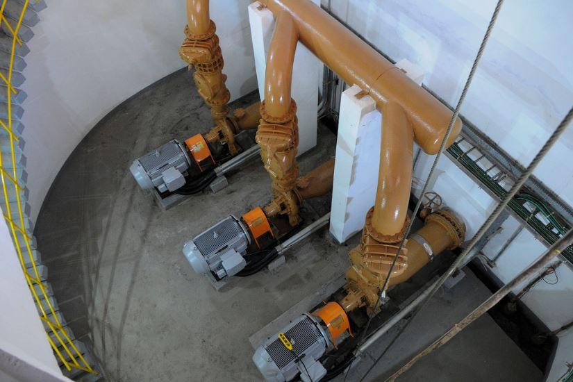 Concluídas, em outubro/2018, as obras de complementação do sistema de exportação de esgotos, em Águas Claras. As obras contemplaram a execução de linha de recalque, interceptor e a Estação Elevatória de Esgotos Parque Águas Claras.