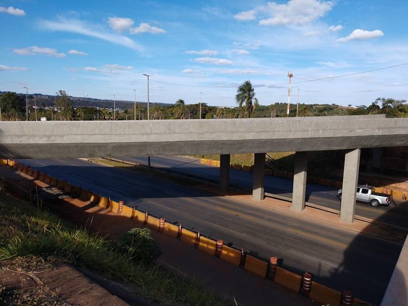Implantação da Ligação Torto Colorado: obras em andamento, com previsão de conclusão no 1º semestre/2019.