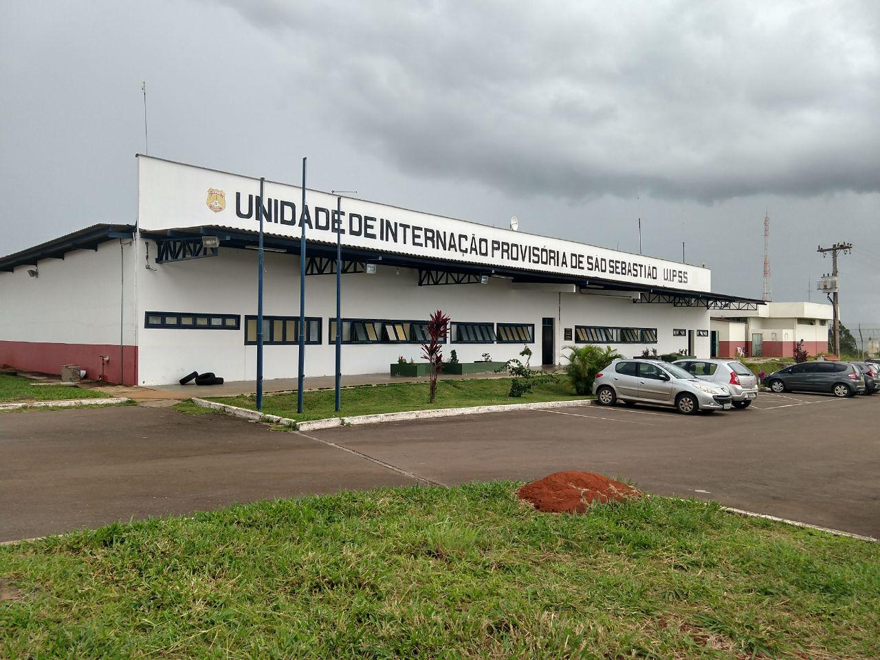 Reformada a Unidade de Internação Provisória do Sistema Socioeducativo de São Sebastião, localizada na Fazenda da Papuda S/Nº - São Sebastião.