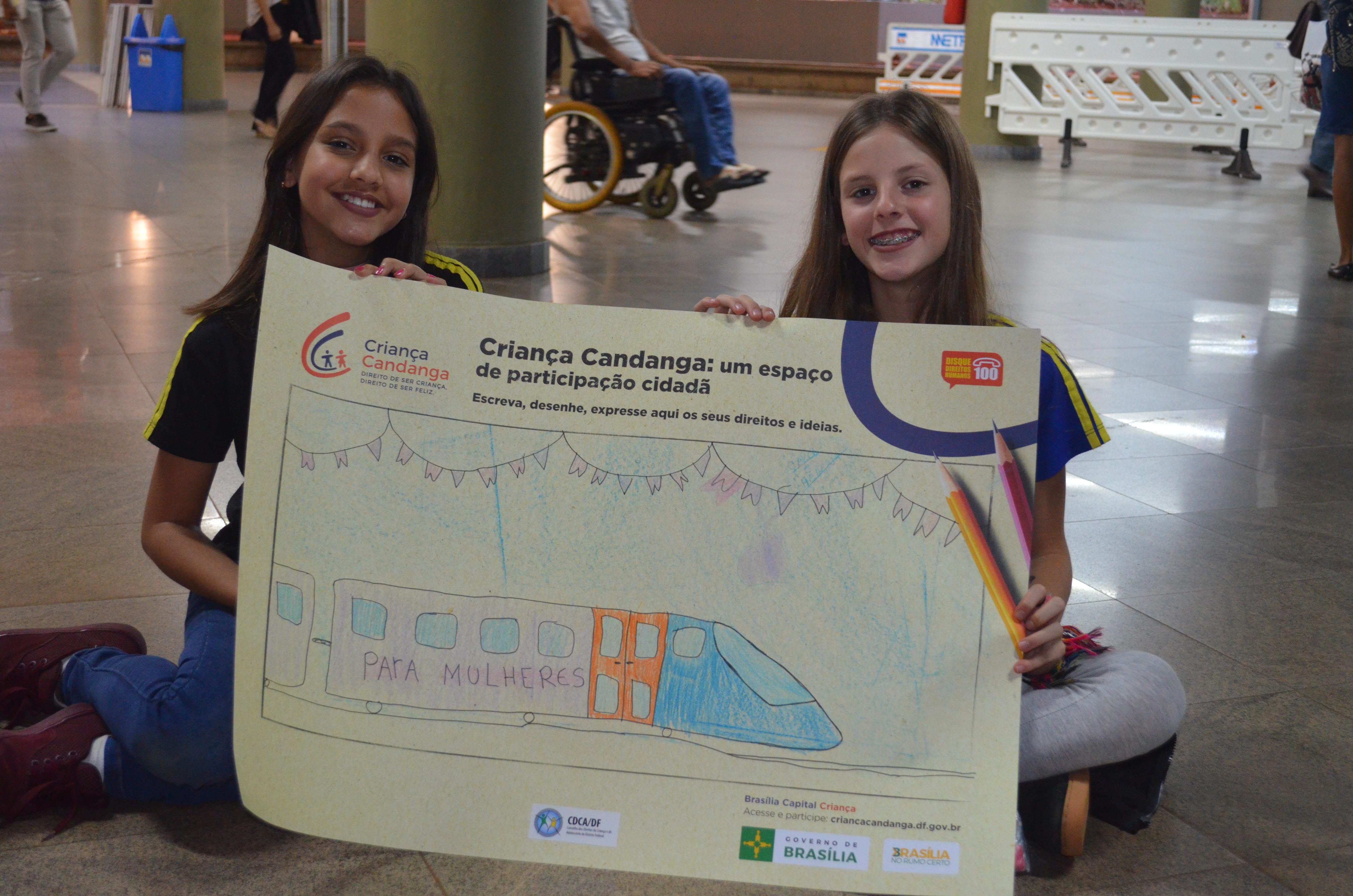 """Plano de Trabalho e Termo de Cooperação Técnica para formalização do Espaço Criança Candanga Cultural na Estação Central do Metrô, foram assinados. No dia 20/06/2018 aconteceu a primeira atividade, com uma visita guiada, coordenada pelo Metrô-DF seguida de atividades para as crianças, no Espaço Criança Candanga da Estação Central. </p> Espaço Criança Candanga (<a href=""""http://www.criancacandanga.df.gov.br/espaco-crianca-candanga/"""">link aqui</a>)"""