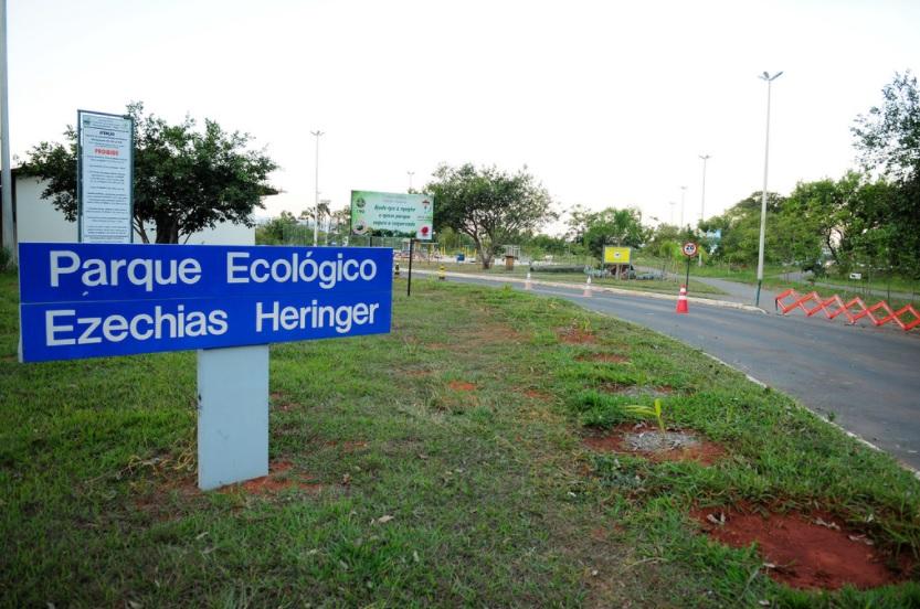 Desocupado e devolvido à população, em janeiro/2017, o Parque Ecológico Ezechias Heringer, localizado na Região Administrativa do Guará.