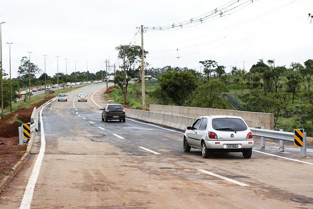 Construída, em dezembro/2017, a ponte sobre o córrego Alagado na Rodovia DF-290.