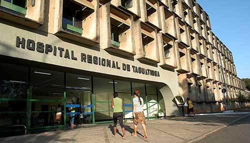 Efetuadas reformas no Hospital Regional de Taguatinga, em 2017, abrangendo: <ul>     <li>Banheiro e copa da Unidade de Pediatria</li>     <li>Unidade de Cardiologia</li>     <li>UTI - Adulto</li>     <li>Corredor da Nefrologia</li> </ul>
