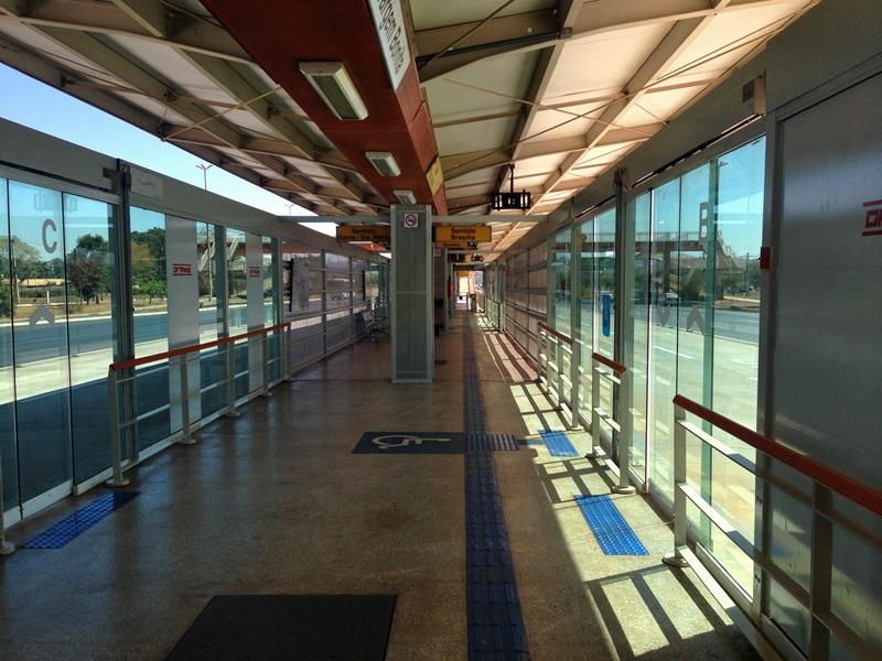Iniciada, em 2017, a operação em duas estações do BRT Sul (Granja do Ipê e Vargem Bonita). Mais duas estações do BRT Sul começaram a operar em 2018, a SMPW e Catetinho.