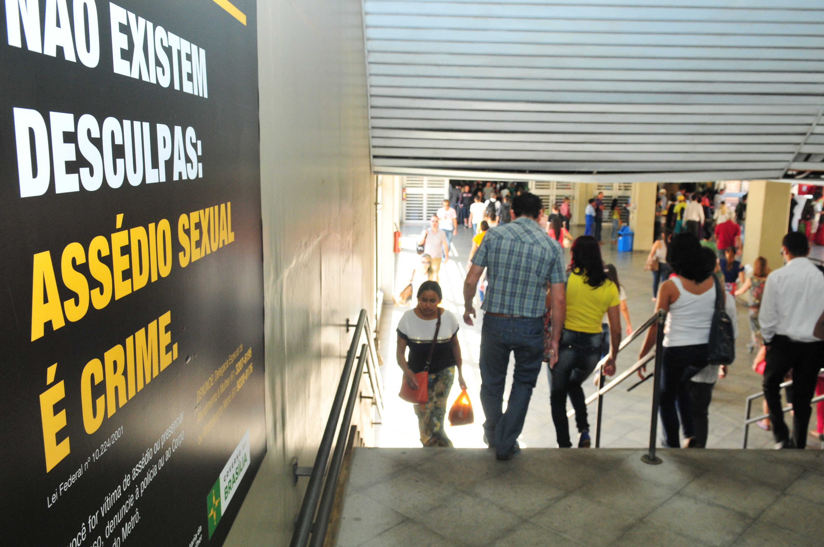 Capacitados, em 2015, os empregados do Metrô, em curso ofertado pela Delegacia Especial de Atendimento à Mulher, para identificação e combate à conduta de assédio a mulheres nas dependências do Metrô.