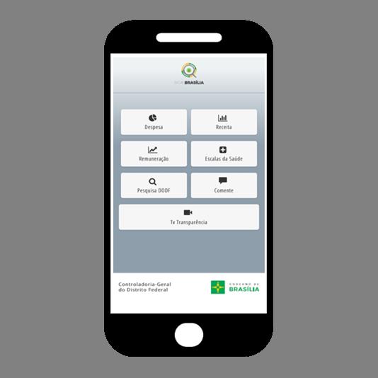 """Lançado o aplicativo Siga Brasília (<a href=""""http://sigabrasilia.df.gov.br/"""">link aqui</a>) em junho/2015, contendo informações sobre as receitas e despesas públicas, remuneração de servidores, escala dos profissionais de saúde, beneficiários dos programas sociais, pesquisa DODF, TV Transparência e um link para comentários.<br<br> O aplicativo permite, de forma efetiva, a participação social no acompanhamento e controle da aplicação dos recursos públicos.<br><br> Desde o lançamento em 2015 até dezembro/2017, o aplicativo teve cerca de 124 mil usuários e 2,4 milhões de acessos. Em 2018, até outubro, foram registradas 2.049.611 visualizações e 45 mil usuários."""