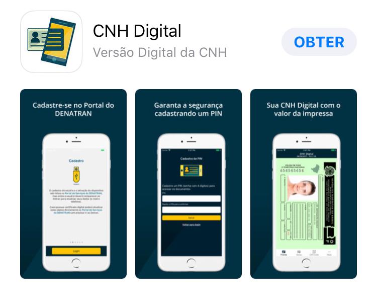 """Lançada, em 16/11/2017, a Carteira Nacional de Habilitação digital, com o objetivo de oferecer maior segurança e comodidade aos condutores brasilienses. Os condutores de veículos do DF, que possuem a CNH em papel com QR Code no verso, podem solicitar suas carteiras digitais diretamente no portal de serviços do Denatran (<a href=""""https://portalservicos.denatran.serpro.gov.br"""">link aqui</a>). A carteira eletrônica substitui a impressa, uma vez que ambas possuem o mesmo valor jurídico. O aplicativo da CNH digital já está disponível gratuitamente para download: <ul>     <li>Google Play (<a href=""""https://play.google.com/store/apps/details?id=br.gov.serpro.cnhe&hl=pt_BR"""">link aqui</a>)</li> </ul><ul>     <li> App Store (<a href=""""https://itunes.apple.com/br/app/cnh-digital/id1275057217?mt=8"""">link aqui</a>)</li> </ul> Mais informações (<a href=""""https://www.agenciabrasilia.df.gov.br/2017/11/20/saiba-como-tirar-a-carteira-de-motorista-digital/"""">link aqui</a>)"""